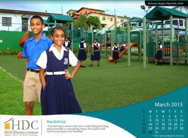 HDC 2015 calendar.