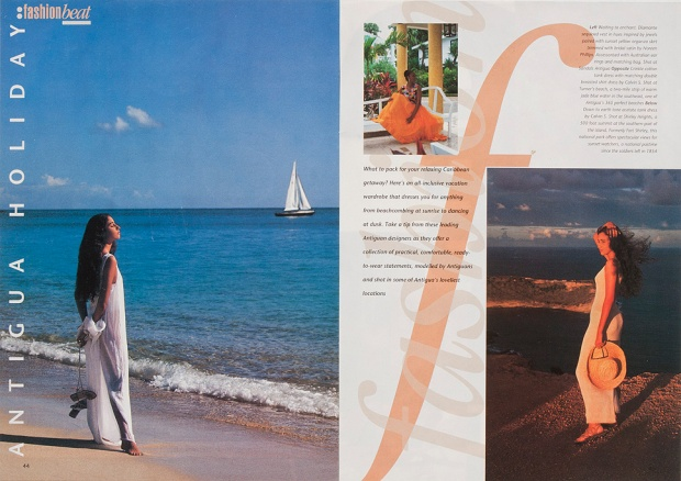 'Antigua Holiday' destination feature.