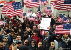 Yemeni-American business owners protest Muslim ban.